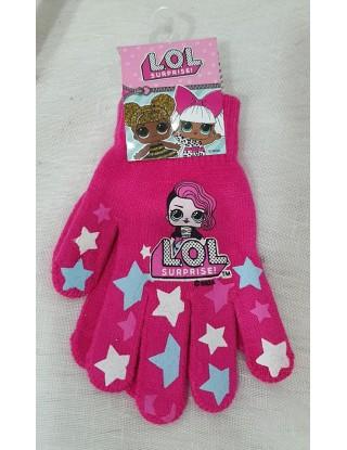 Dječje rukavice LOL PINK